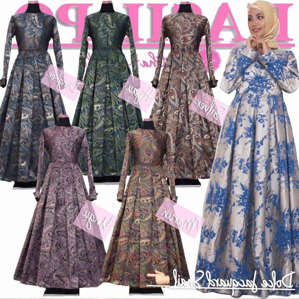 Design Harga Baju Lebaran Keluarga Tanah Abang Whdr Baju Pesta Muslimah Dan Sarimbit Keluarga Dolce Dress Jo