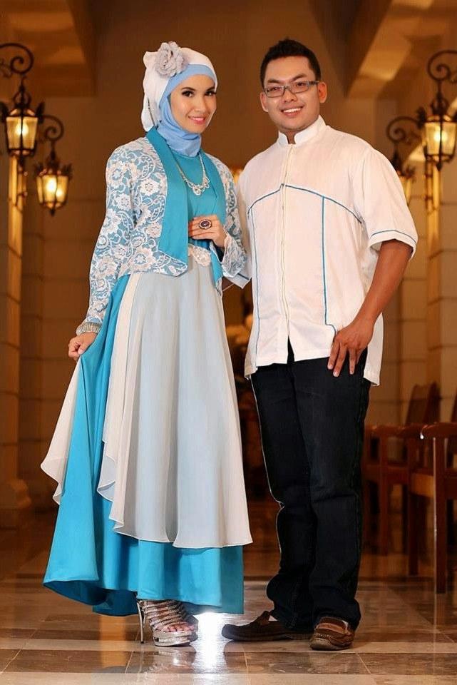 Design Mencari Baju Lebaran Ffdn 16 Contoh Model Batik Muslim Pesta Modern Terbaik