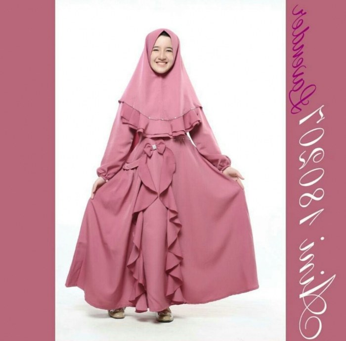 Design Model Baju Lebaran 2018 Anak Perempuan 9fdy 23 Model Baju Gamis Anak Perempuan Lucu Dan Cantik