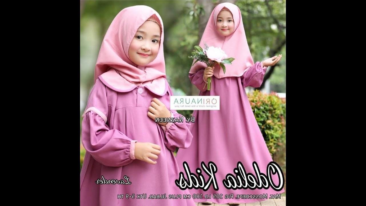 Design Model Baju Lebaran 2018 Anak Perempuan Tqd3 Model Baju Gamis Anak Perempuan Terbaru Lucu Dan Cantik