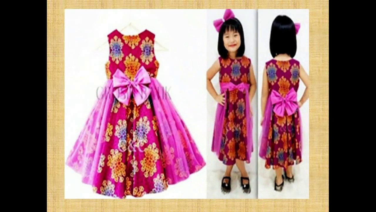 Design Model Baju Lebaran 2019 Anak Perempuan Etdg Model Baju Anak Batik Perempuan Model Baju Trend 2019