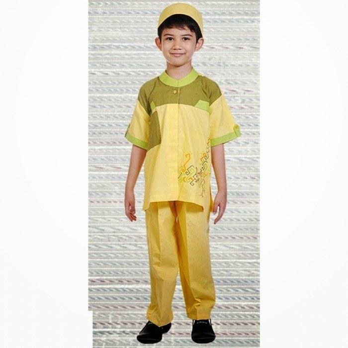 Design Model Baju Lebaran Anak Perempuan O2d5 19 Model Baju Muslim Anak Laki Laki Modern