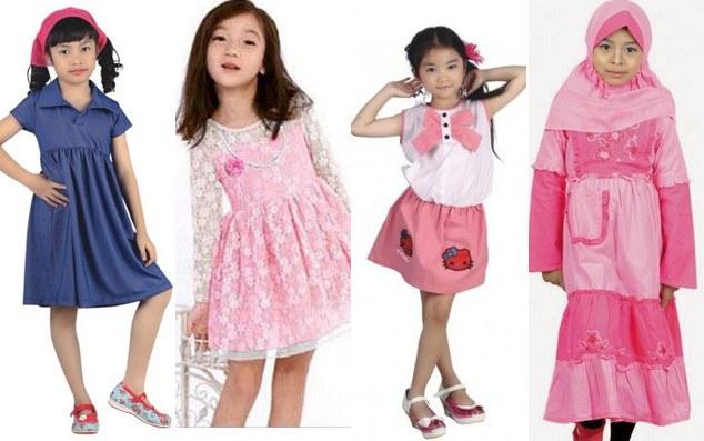 Design Model Baju Lebaran Anak Perempuan U3dh Pakaian Lebaran Anak Perempuan Murah Berkualitas