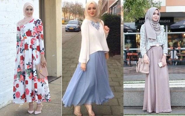 Design Model Baju Lebaran Muslim 2018 J7do Baju Lebaran Model Terbaru Untuk Remaja Muslimah 2019