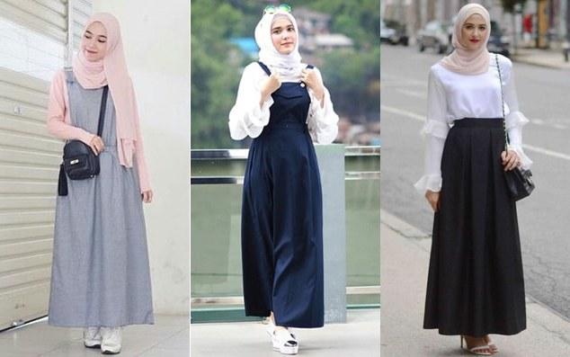 Design Model Baju Lebaran Muslim 2018 Xtd6 Baju Lebaran Model Terbaru Untuk Remaja Muslimah 2019