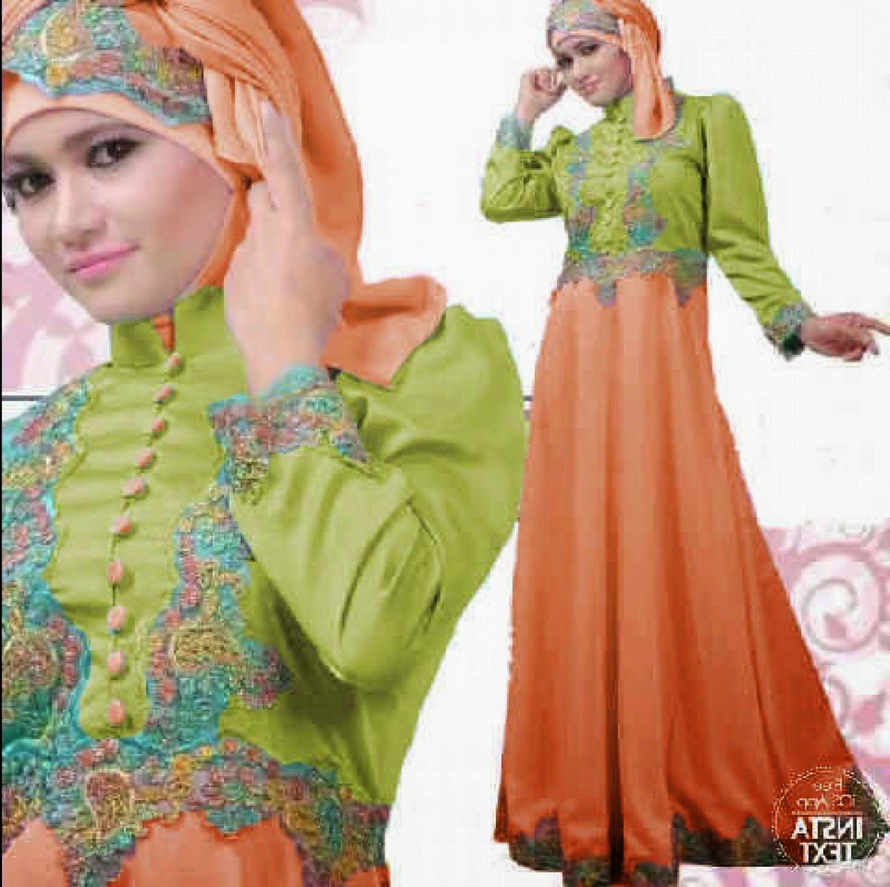 Design Model Baju Lebaran Muslim 2018 Zwd9 Kumpulan Foto Model Baju Kebaya Lebaran Terbaru 2018