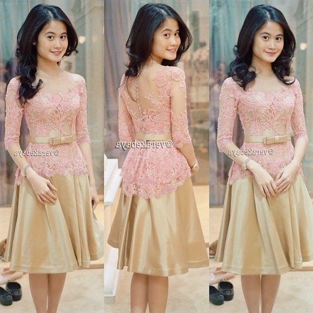 Design Model Baju Lebaran Simple Tapi Elegan 9ddf 33 Model Baju Kebaya Modern Yang Elegan Dikenakan [update