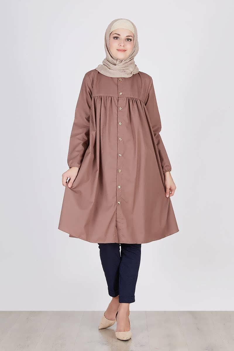 Design Model Baju Lebaran Simple Tapi Elegan Nkde 30 Model Gamis Simple Elegan Dan Mewah Terbaru 2019