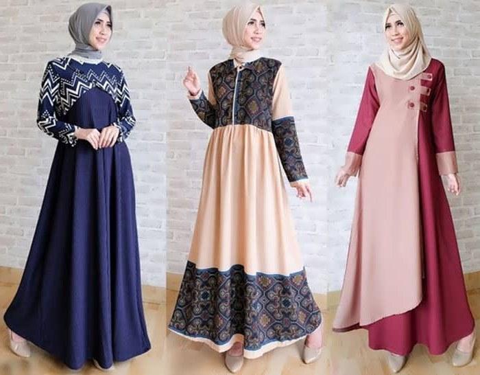 Design Model Baju Lebaran Simple Tapi Elegan Rldj 25 Model Gamis Simple Tapi Mewah Model Baju Muslim