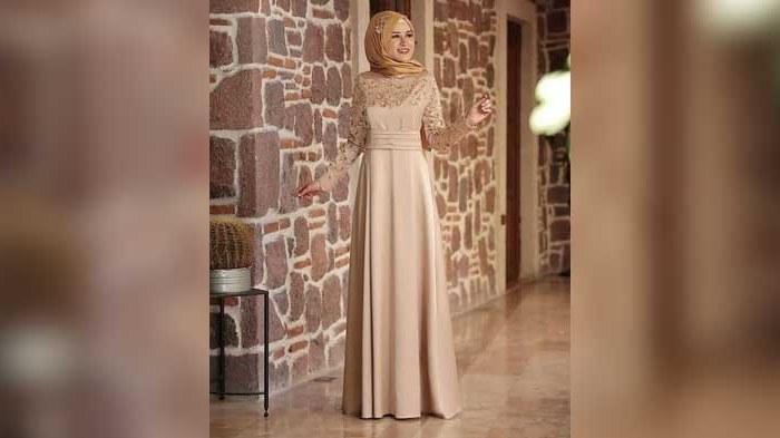 Design Model Baju Lebaran Syar'i 2019 Zwdg Tren Model Baju Lebaran Wanita 2019 Indonesia Inside