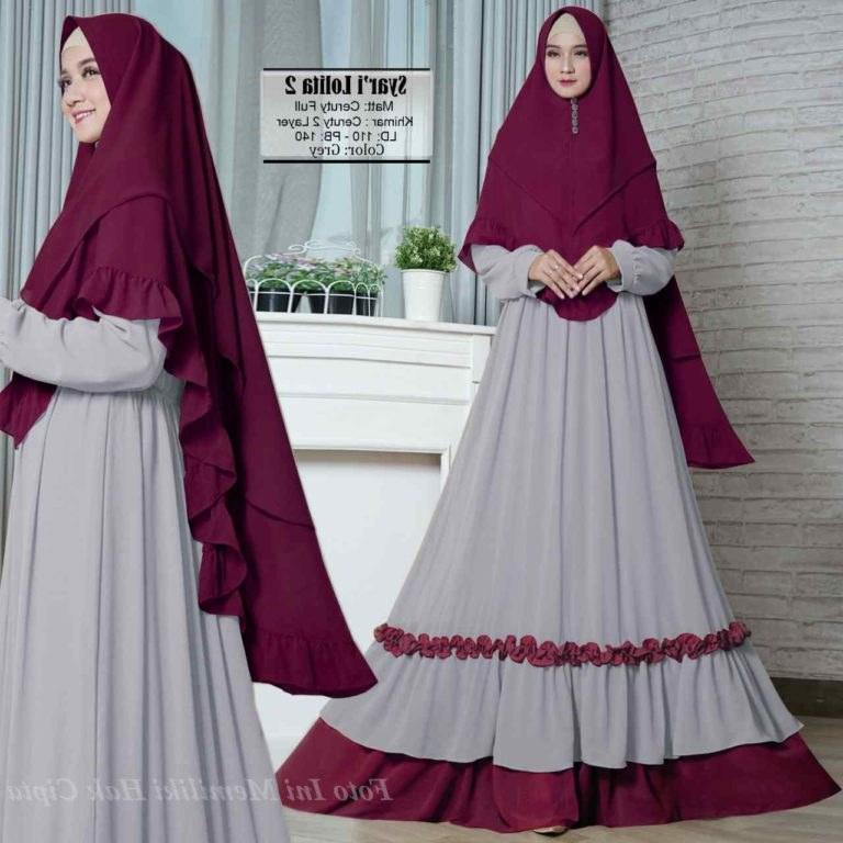 Design Model Baju Lebaran Tahun 2019 Zwd9 Model Baju Muslim Terkini 2019