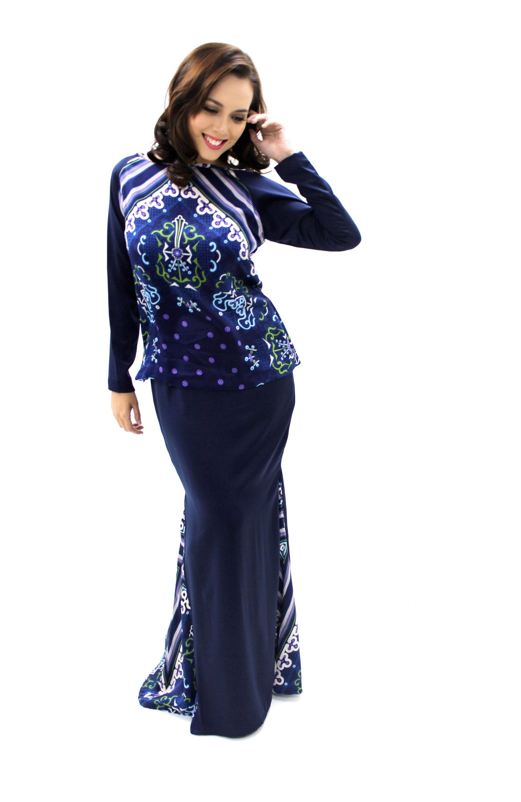 Design Model Baju Lebaran Terkini Budm Siti Saleha Gayakan Koleksi Lebaran My Apparel Zoo 2014