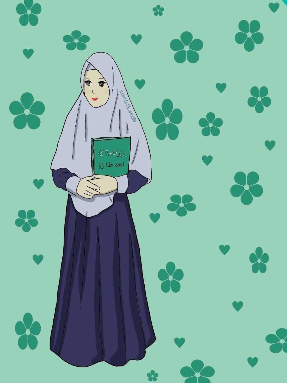 Design Muslimah Bercadar Cantik Qwdq Gambar Kartun Muslimah Koleksi Gambar Hd