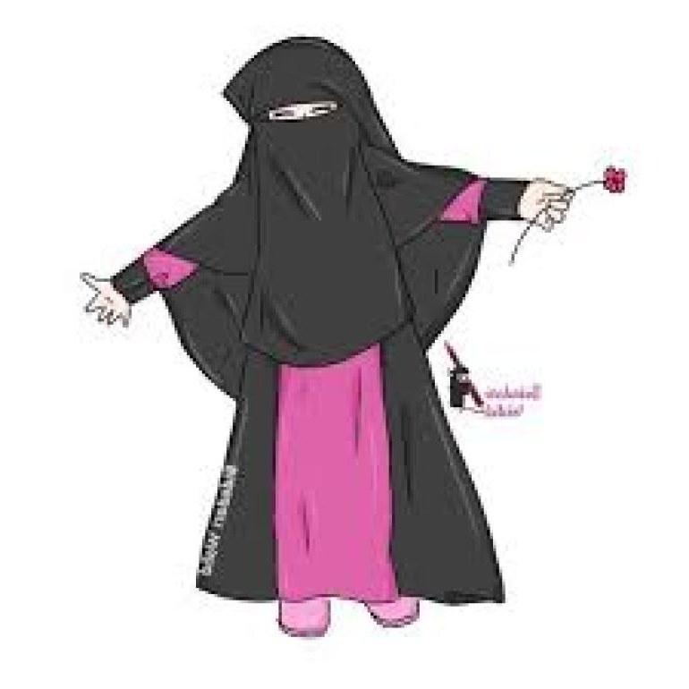 Design Muslimah Bercadar Kartun Bqdd 75 Gambar Kartun Muslimah Cantik Dan Imut Bercadar