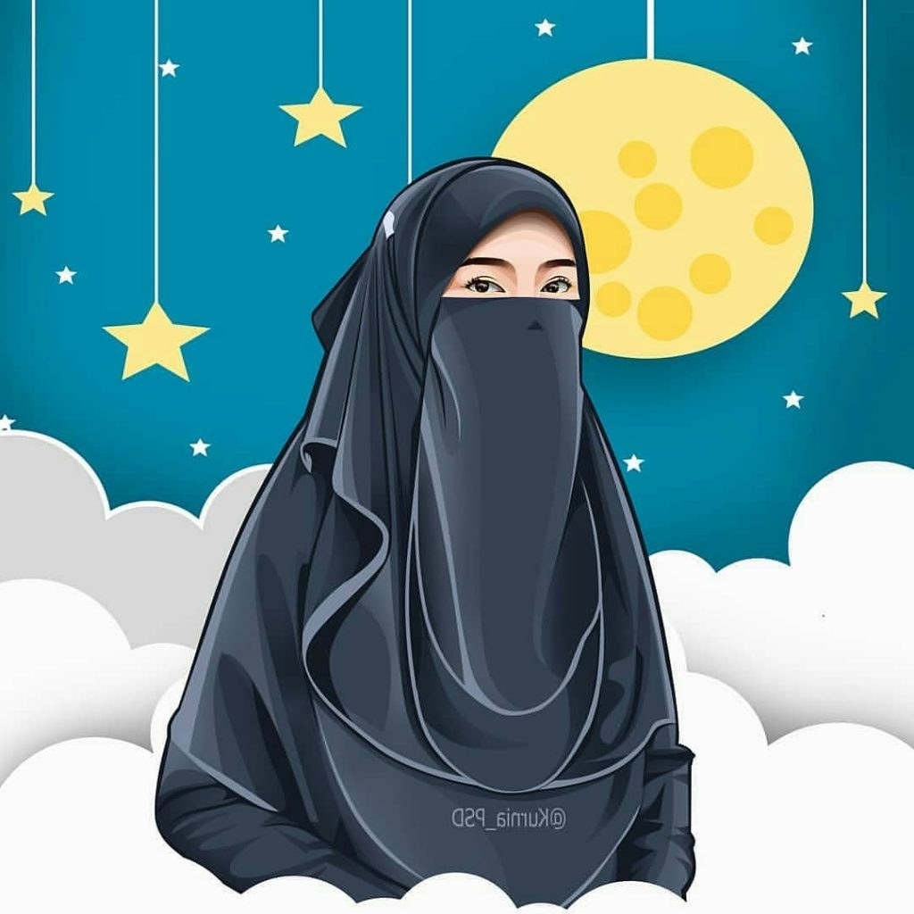 Design Muslimah Bercadar Kartun Drdp 43 Gambar Kartun Muslimah Berhijab Lucu Dan Menggemaskan