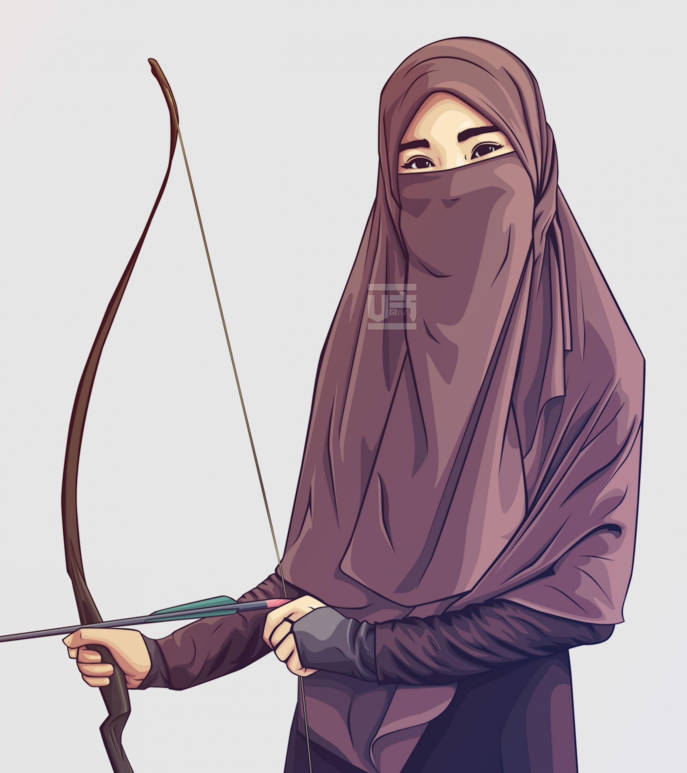Design Muslimah Bercadar Kartun O2d5 top Gambar Kartun Muslimah Pakai Niqab