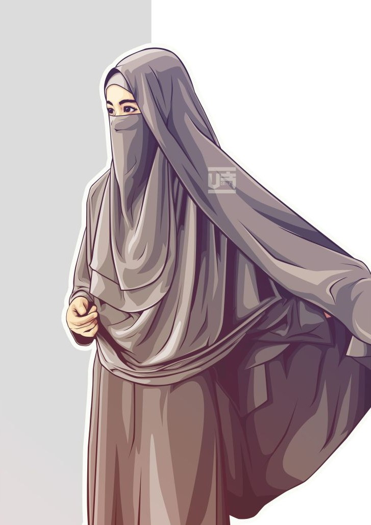Design Muslimah Bercadar Memanah T8dj 75 Gambar Kartun Muslimah Cantik Dan Imut Bercadar