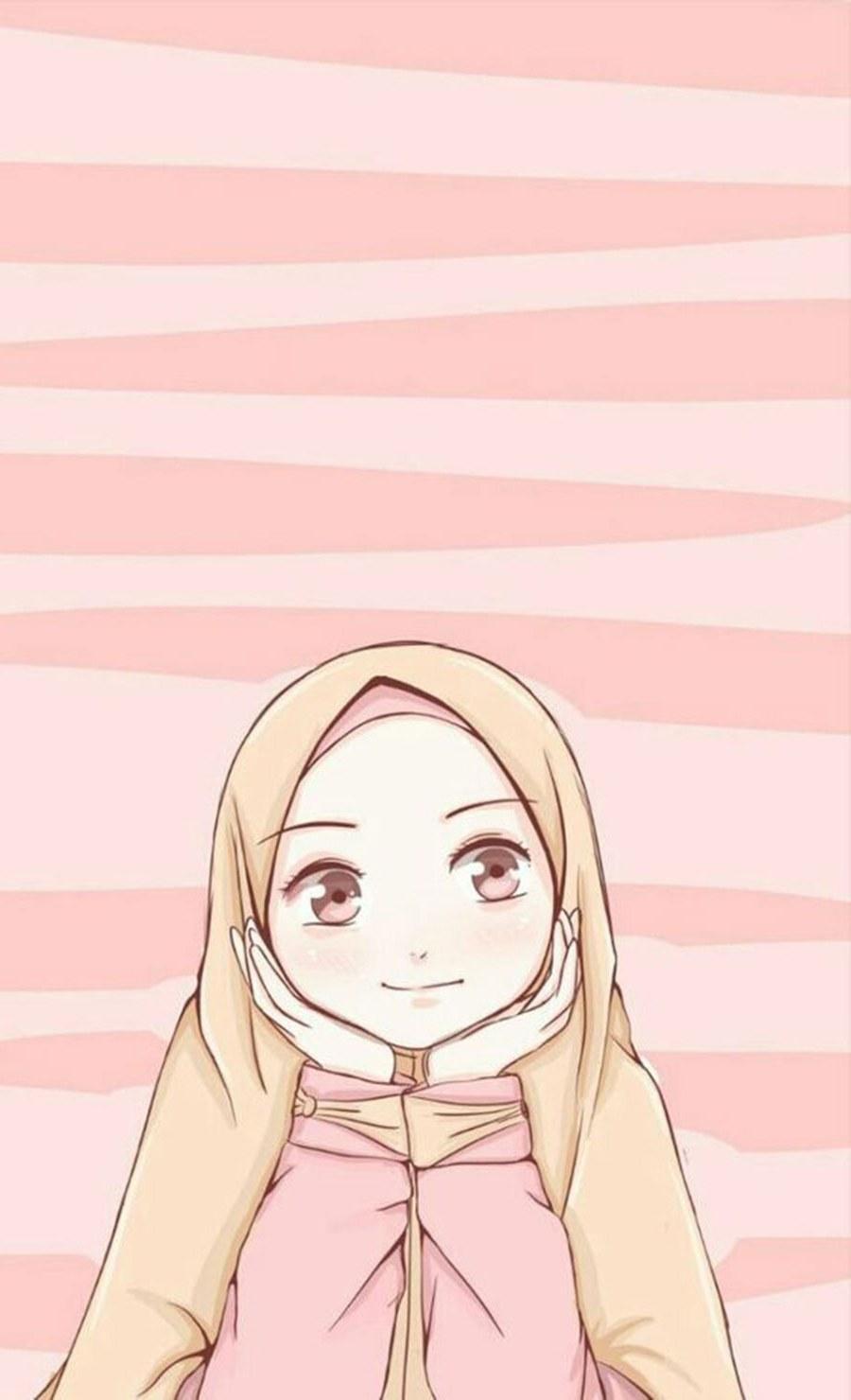 Design Muslimah Kartun Kvdd 1000 Gambar Kartun Muslimah Cantik Bercadar Kacamata El