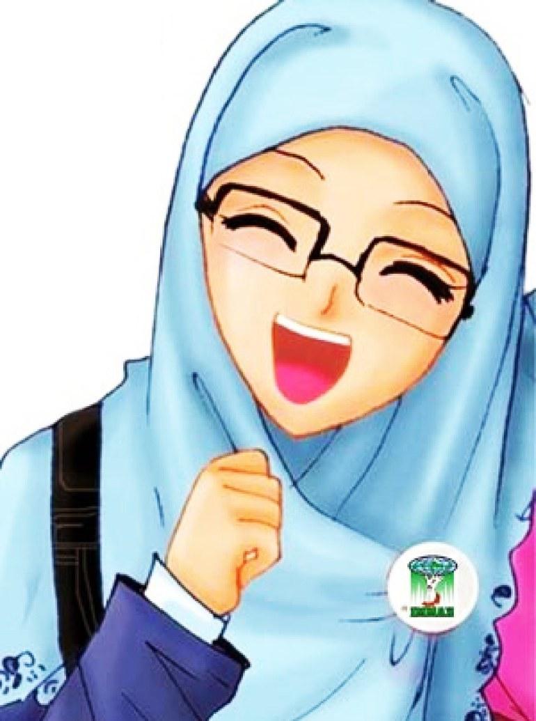 Design Muslimah Kartun Sedih 8ydm 75 Gambar Kartun Muslimah Cantik Dan Imut Bercadar
