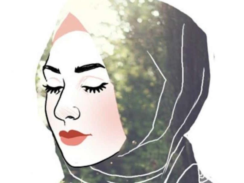 Design Muslimah Kartun Sedih Budm 30 Gambar Kartun Muslimah Bercadar Syari Cantik Lucu