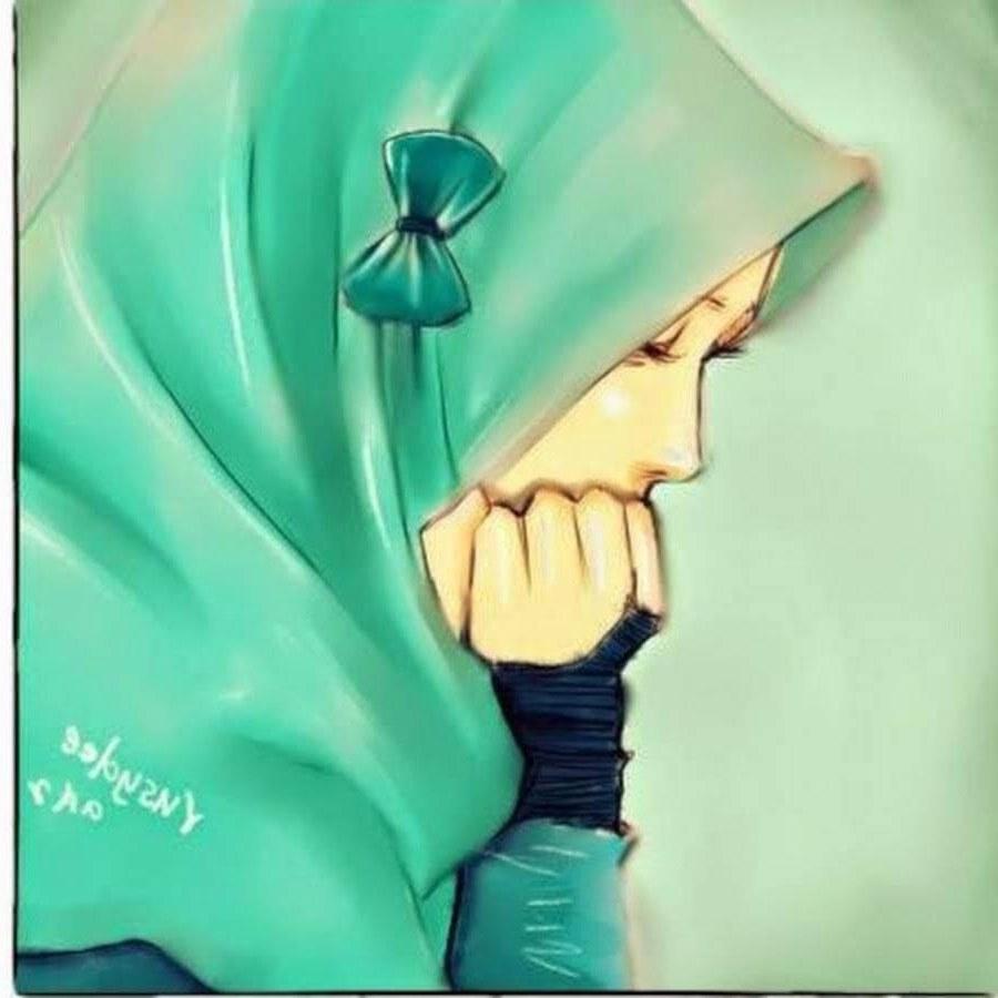 Design Muslimah Kartun Sedih Etdg 2019 Gambar Kartun Muslimah Terbaru Kualitas Hd