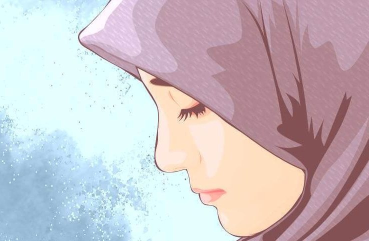 Design Muslimah Kartun Sedih Rldj Arti Hijrah Hukum Dan Kebaikannya Dalam islam