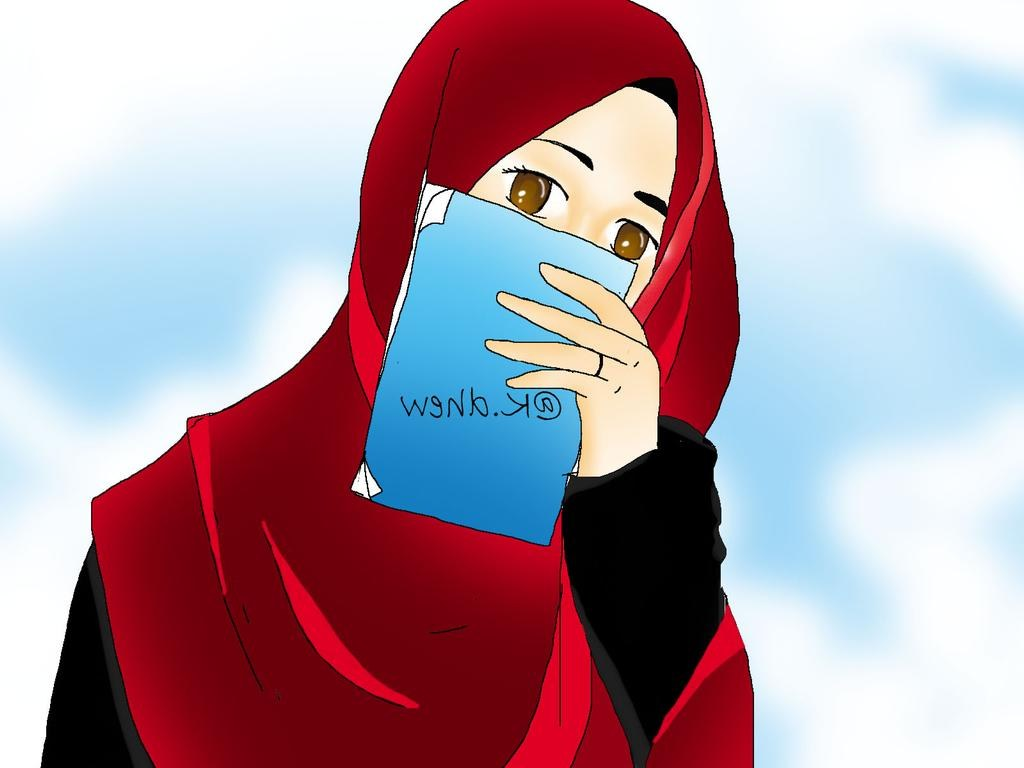 Design Muslimah Kartun Tldn Kartun Muslimah by Kdhew On Deviantart