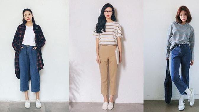 Design Ootd Baju Lebaran Remaja 2020 4pde Simpel & Praktis Begini Gaya Busana Anak Muda Korea