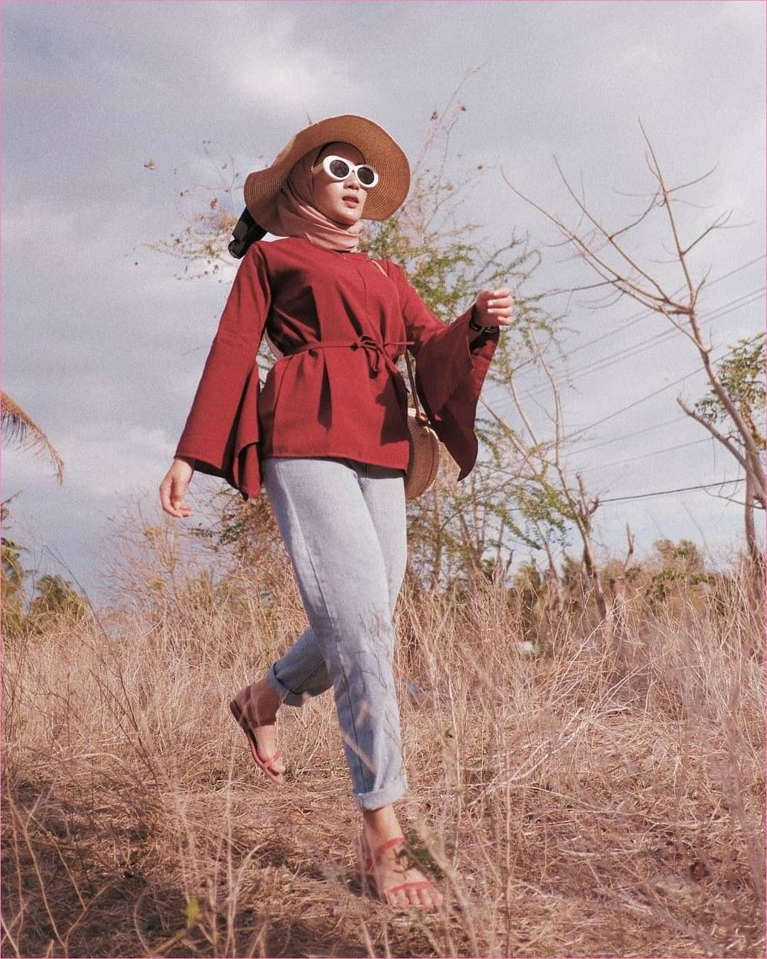 Design Ootd Baju Lebaran Remaja 2020 Tqd3 Pin Di Outfit Baju Remaja Berhijab Ala Selebgram 2018