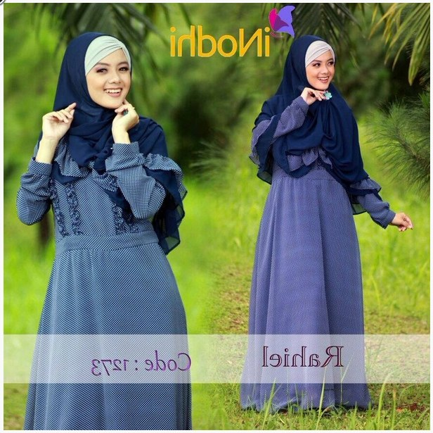 Design Poto Baju Lebaran 4pde 10 Contoh Baju Muslim Syar I Model Baru 2015