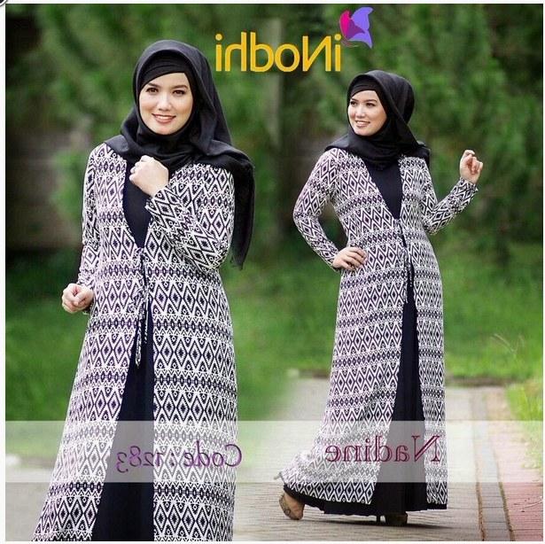 Design Poto Baju Lebaran H9d9 10 Contoh Baju Muslim Syar I Model Baru 2015