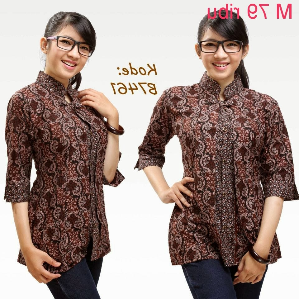 Design Poto Baju Lebaran Jxdu Contoh Model Baju Batik