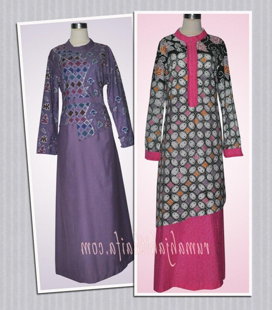 Design Poto Baju Lebaran Nkde Gamis Batik Ibu Wigati Di Pekanbaru