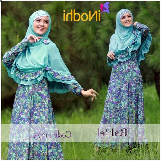 Design Poto Baju Lebaran T8dj 10 Contoh Baju Muslim Syar I Model Baru 2015