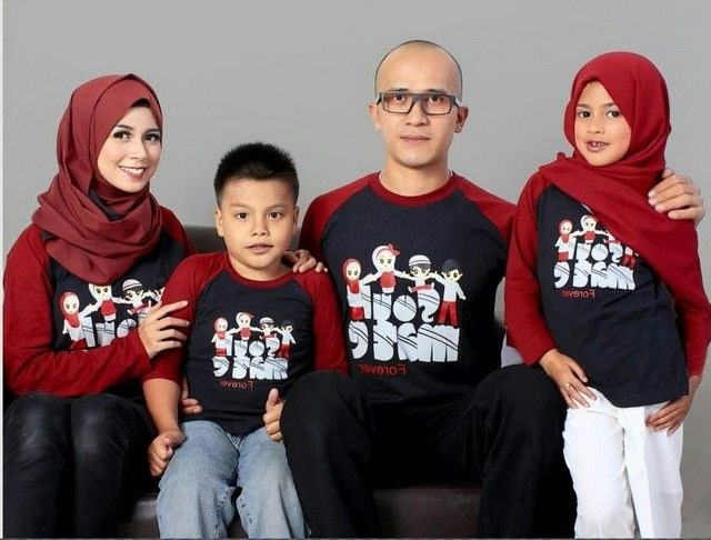 Design Referensi Baju Lebaran 2018 Rldj Baju Lebaran 2018 Keluarga Baju Lebaran Couple 2018