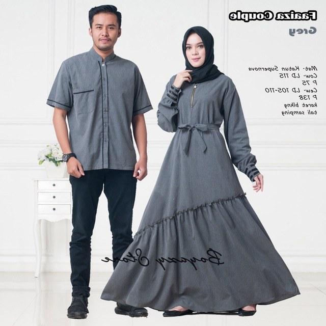 Design Shopee Baju Lebaran 3id6 Faaiza Couple ori Boyazy Seragam Baju Lebaran Couple