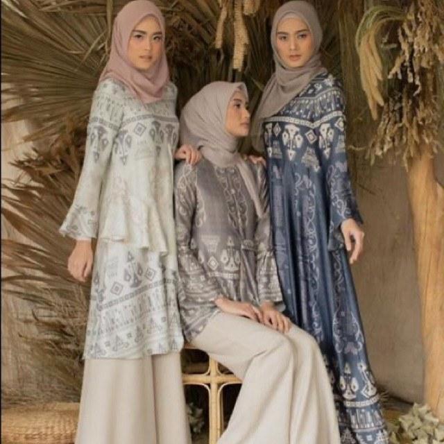 Design Shopee Baju Lebaran 9fdy [open Po No Cod] Dress Canberra Kambera Look A Like
