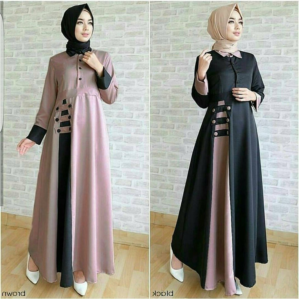 Design Shopee Baju Lebaran Budm Busana Muslim Edisi Lebaran High Quality Gamis Baloteli