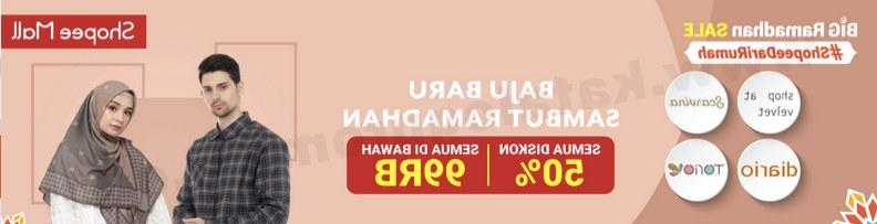 Design Shopee Baju Lebaran Fmdf Shopee Promo Baju Baru Sambut Ramadan Semua Diskon