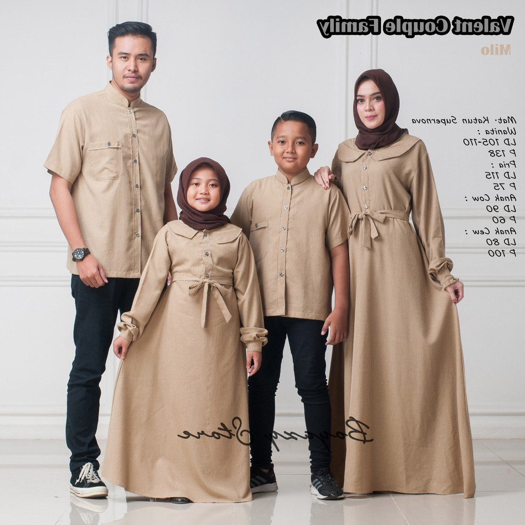 Design Shopee Baju Lebaran Mndw Baju Lebaran Valent Couple Family ori Boyazy Couple
