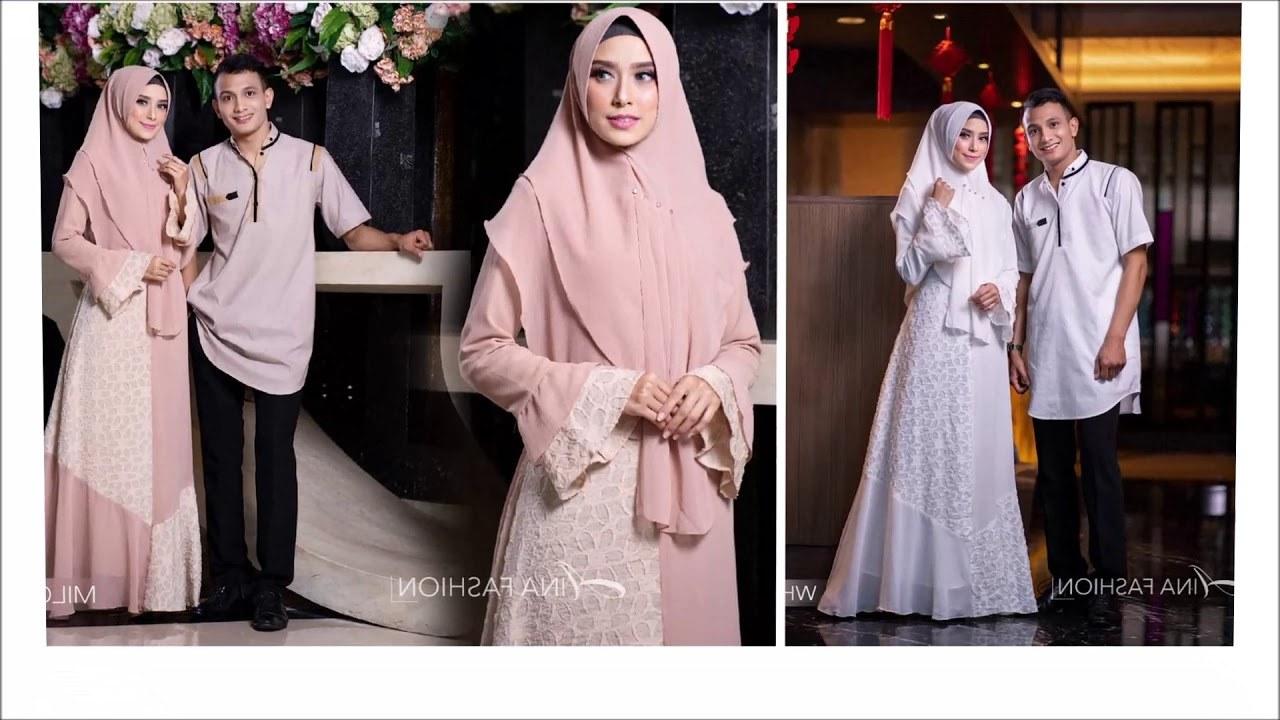Design Warna Baju Lebaran 2019 Keluarga Fmdf Model Baju Keluarga Muslim Untuk Lebaran Dan Idul Fitri