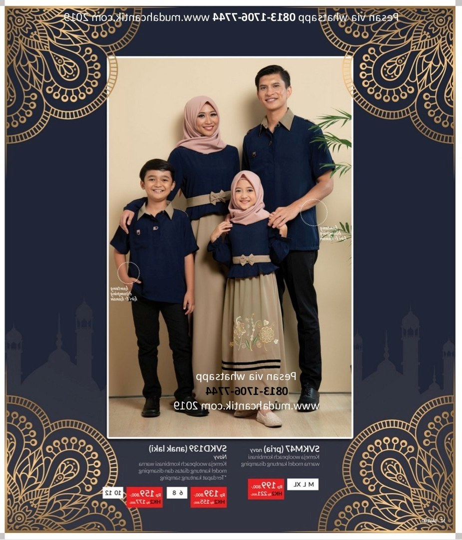 Ide Baju Lebaran 2019 Terbaru U3dh Baju Lebaran Model Terbaru 2019