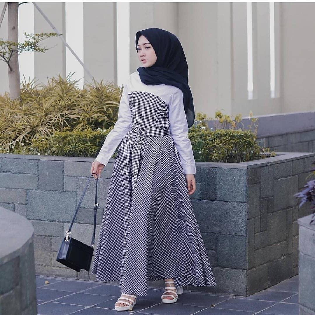 Ide Baju Lebaran 2019 Wanita E9dx Baju Gamis Remaja Lebaran 2019 Nusagates