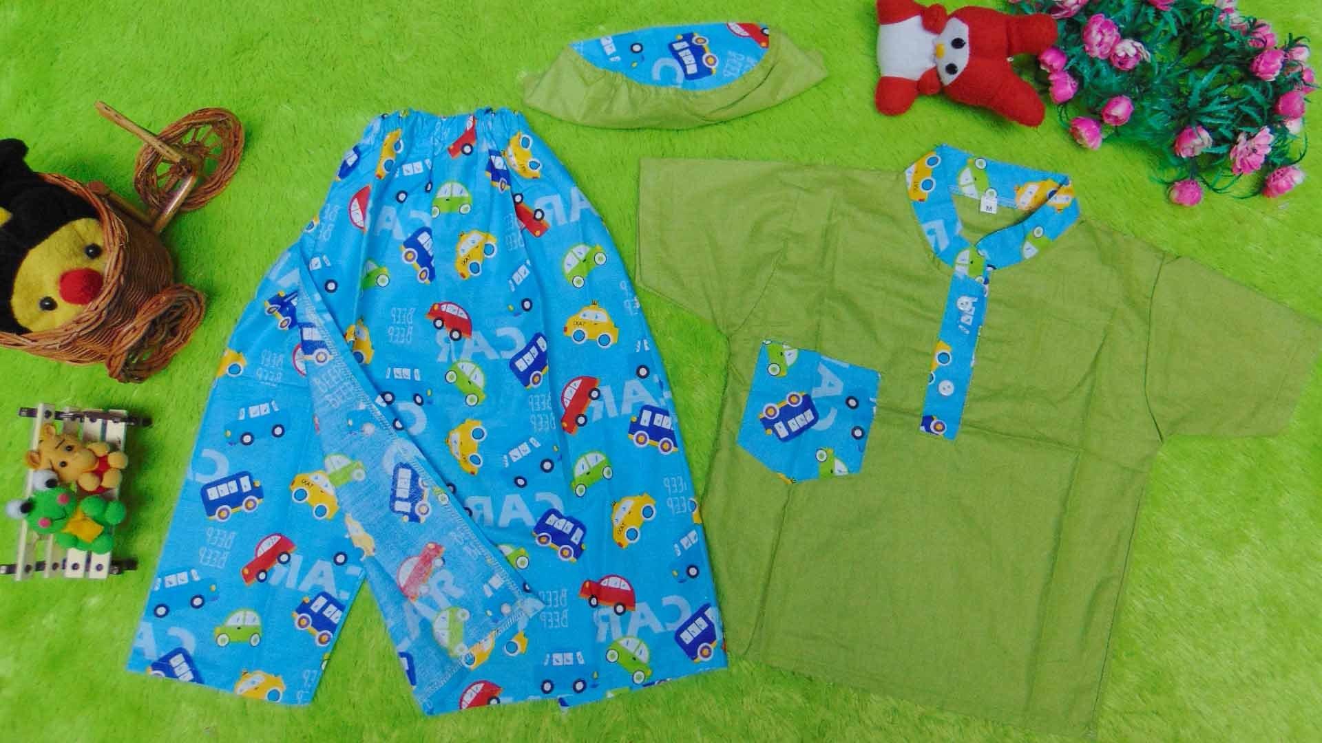 Ide Baju Lebaran Anak 1 Tahun T8dj Baju Lebaran Koko Setelan Baju Muslim Sarkoci Sarung Koko