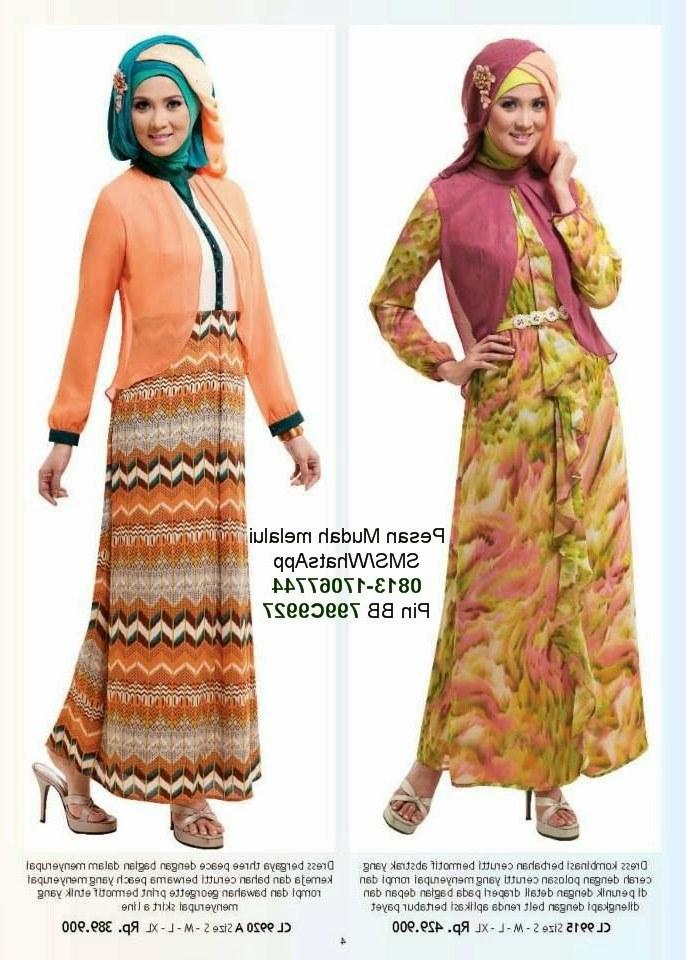 Ide Baju Lebaran Anak Anak Perempuan Tldn butik Baju Muslim Terbaru 2018 Baju Lebaran Anak Wanita