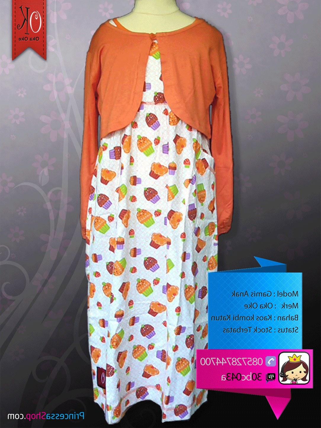 Ide Baju Lebaran Anak Perempuan Umur 10 Tahun 0gdr Baju Muslim Anak Perempuan Umur 2 Tahun Oka Oke