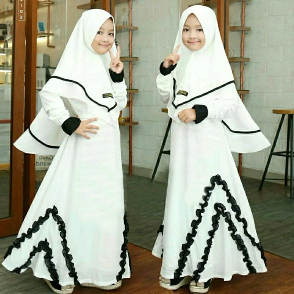 Ide Baju Lebaran Anak Perempuan Umur 10 Tahun 0gdr Contoh Model Baju Gamis Anak Perempuan Dari Umur 2 Tahun