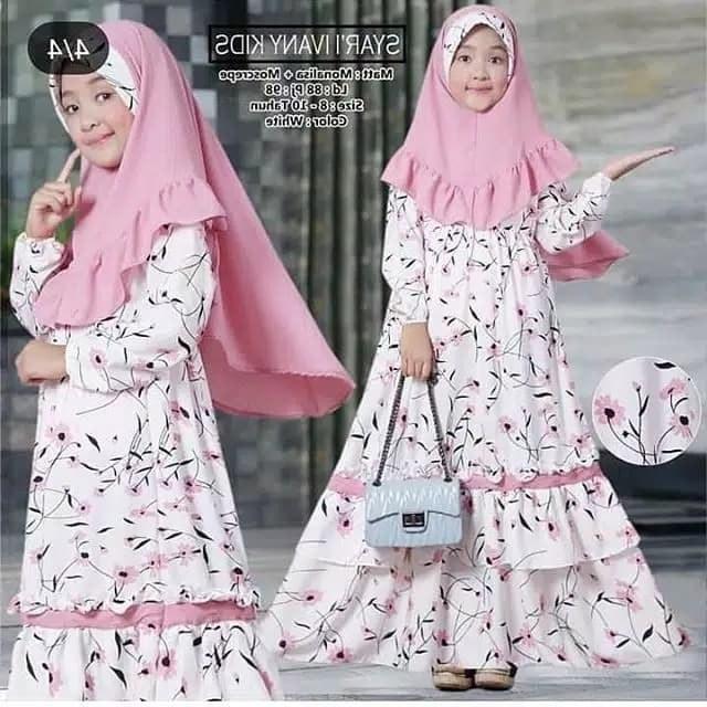 Ide Baju Lebaran Anak Perempuan Umur 10 Tahun Budm Jual Baju Muslim Gamis Anak Baju Anak Perempuan Umur 6 9