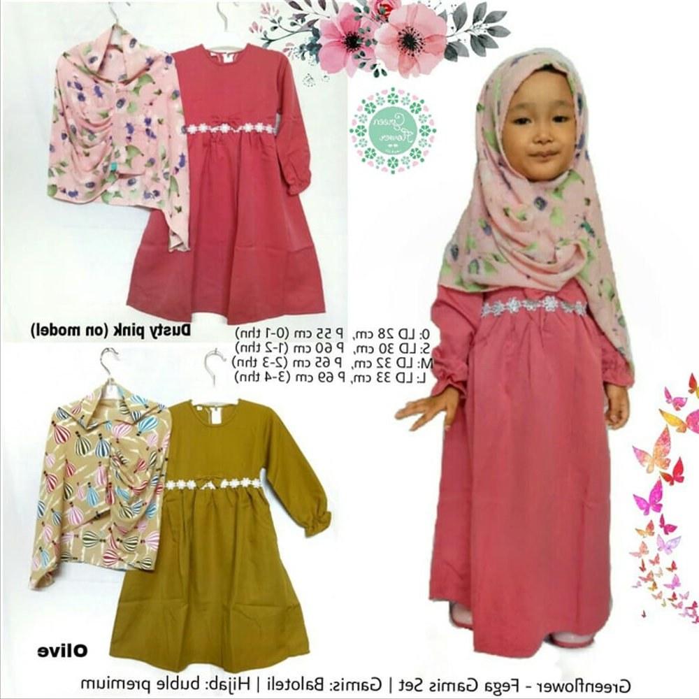 Ide Baju Lebaran Anak Perempuan Umur 10 Tahun Drdp Model Baju Gamis Anak 2 Tahun