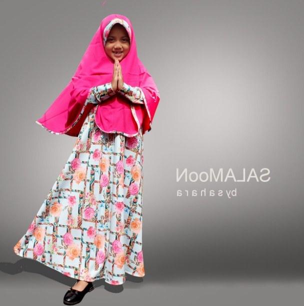 Ide Baju Lebaran Anak Perempuan Umur 10 Tahun Tldn Model Baju Gamis Anak 2 Tahun